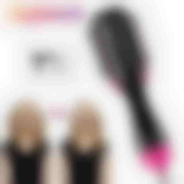 STYLOOM: Vysoušeč vlasů, hřeben a kulma v jednom